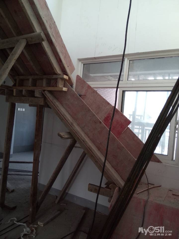 现浇楼梯支模方法图解