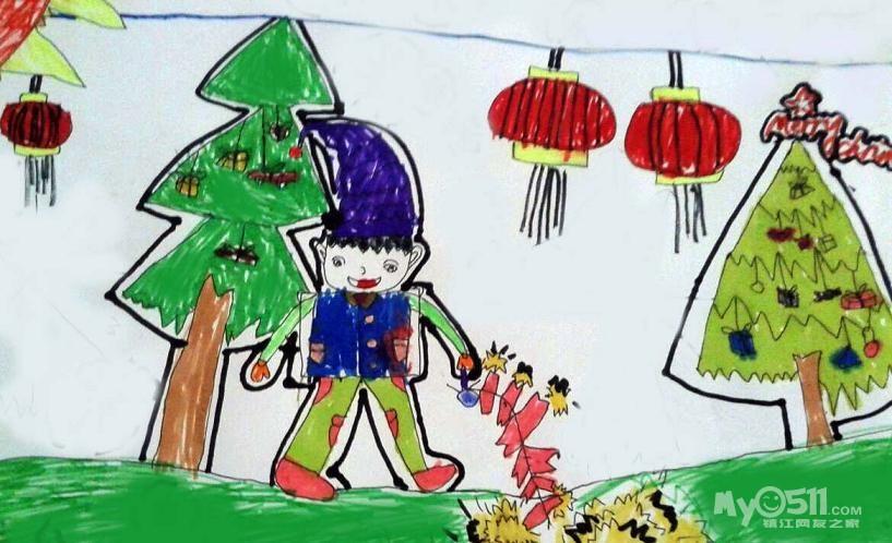 儿童过年图画5 人物速写图片大全 可爱动物图片大全 画画