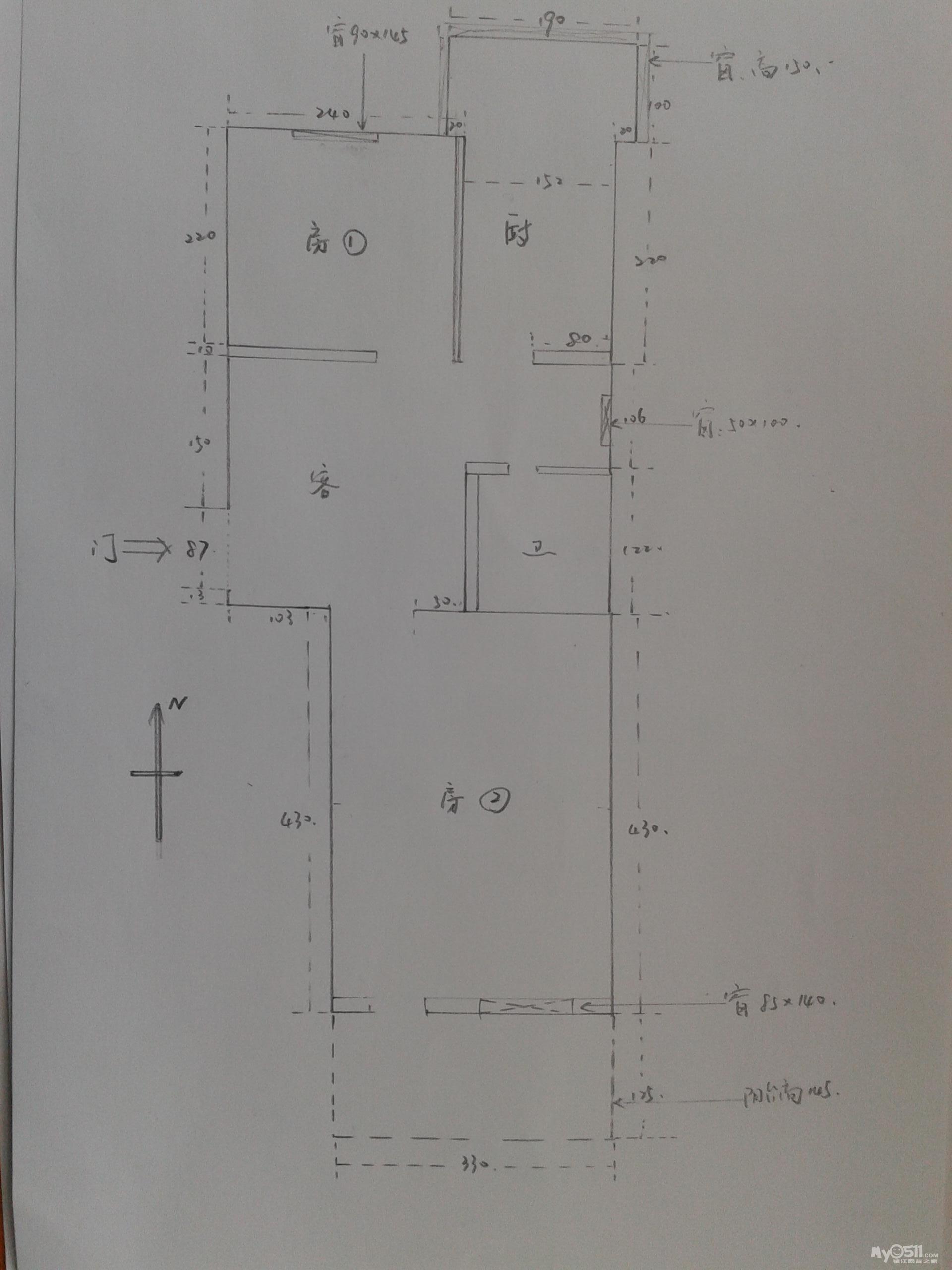 6,附手画结构图