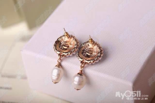 四叶草套装 925银锆石镶嵌 耳钉戒指项链-精美高仿小香,宝格丽,