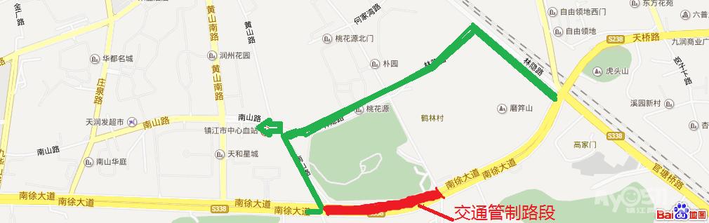 徐黄高速公路线路图