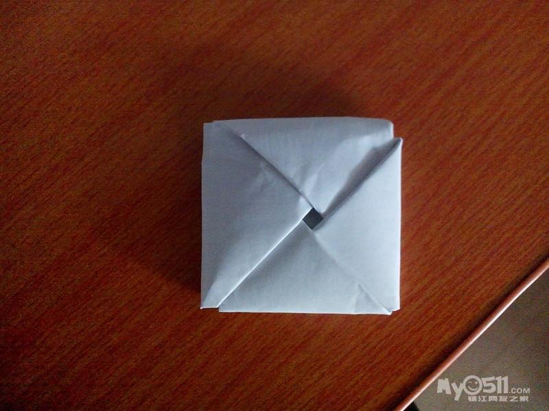 手工制作纸毽子