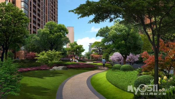 西方花园设计图