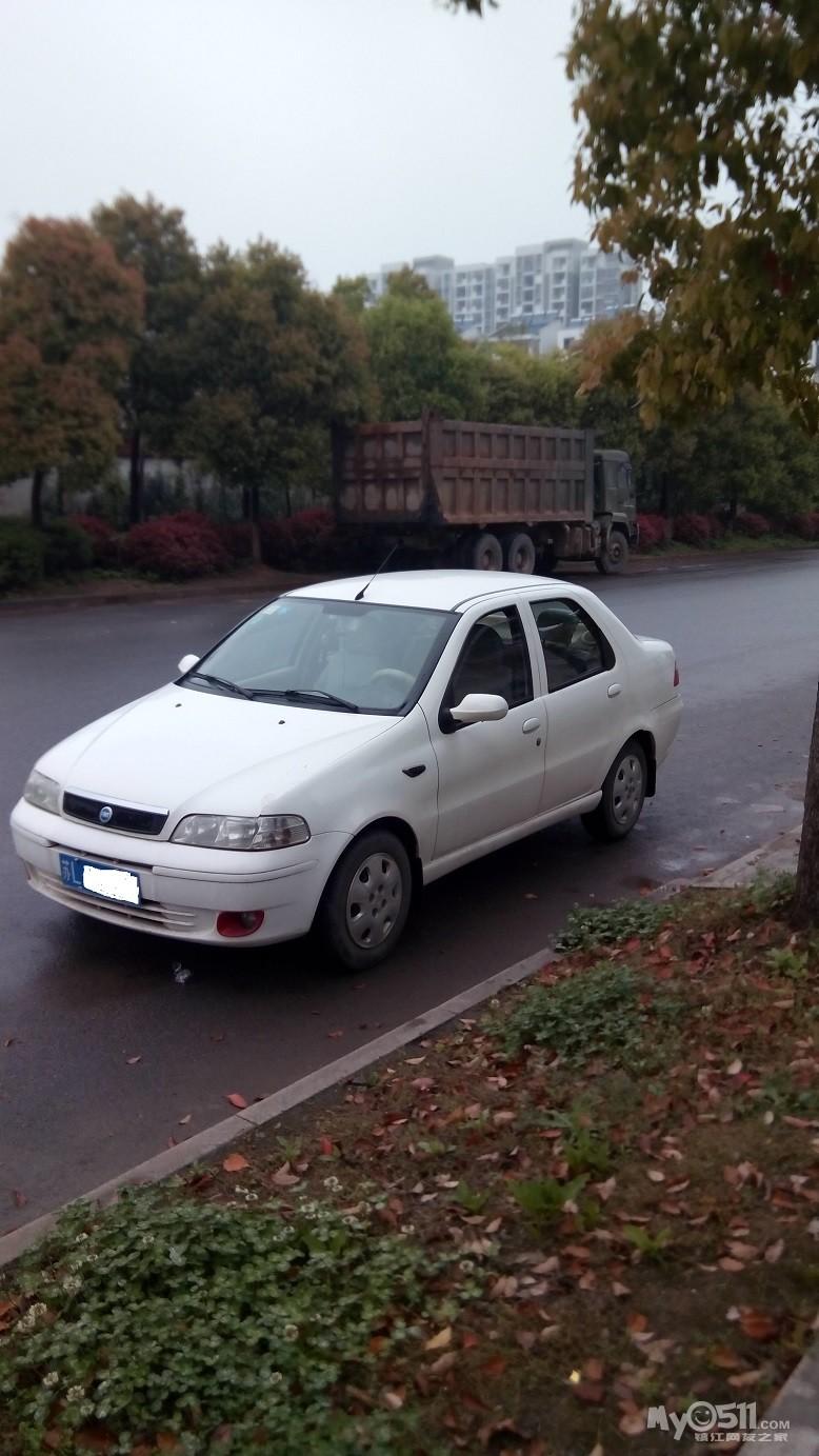 转让06年菲亚特西耶那三厢轿车,白色手动1.5,公里数14万,高清图片