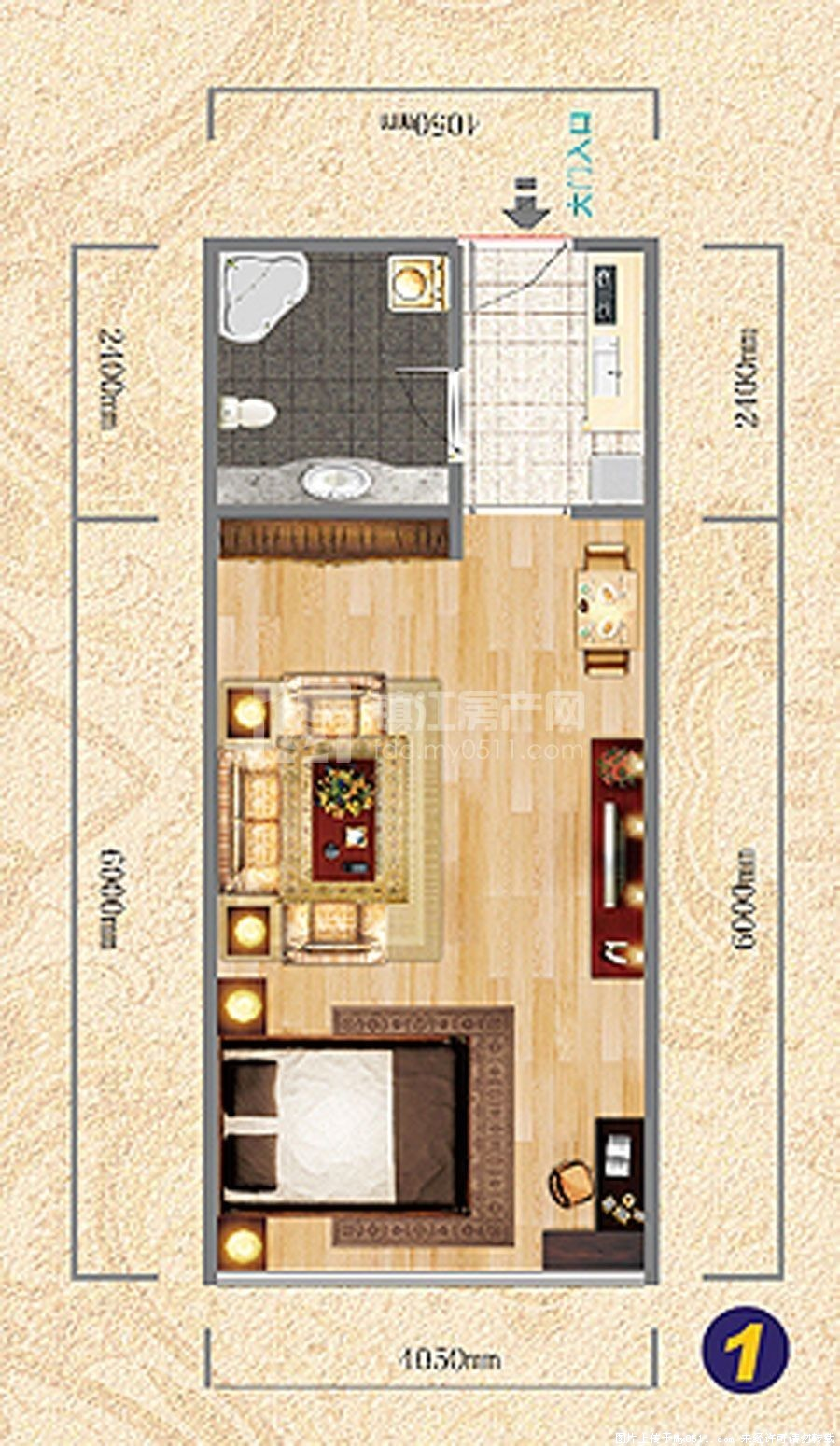 多层带电梯单身公寓 所属小区图片