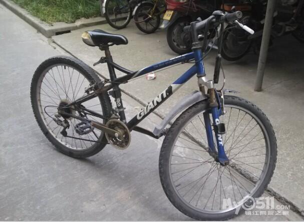 现有一捷安特自行车转让,车子如图.18752968255 价格200,不刀图片
