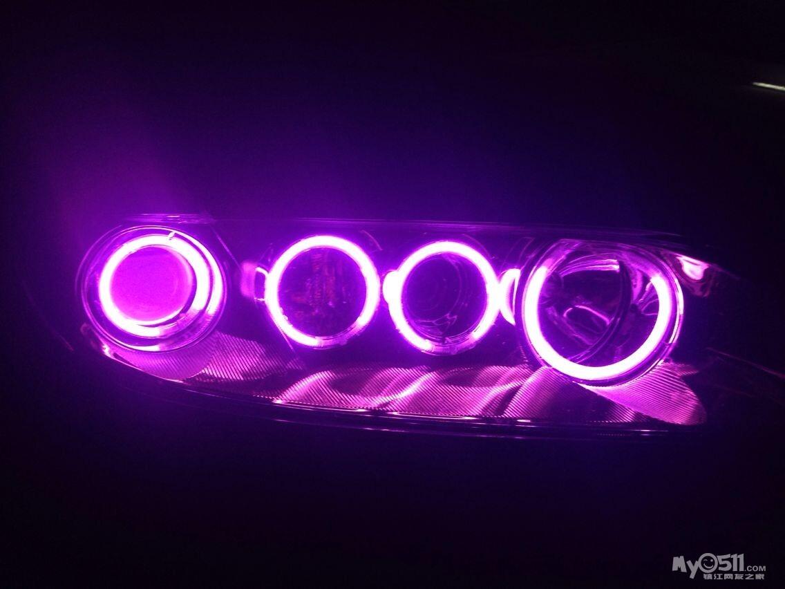 博恩专业汽车灯光升级
