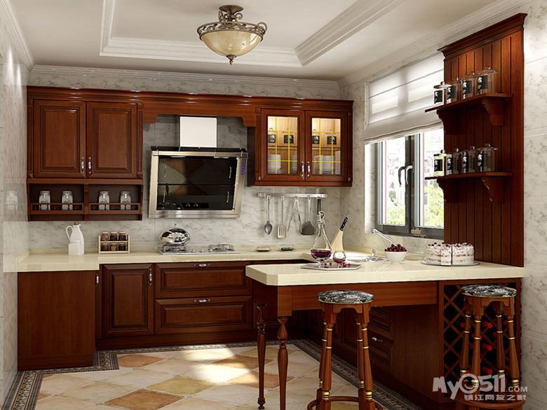 厨房 高柜 欧派效果图