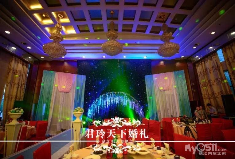 君玲天下婚礼 2014.05.20 锦绣皇宫1楼 蓝加粉