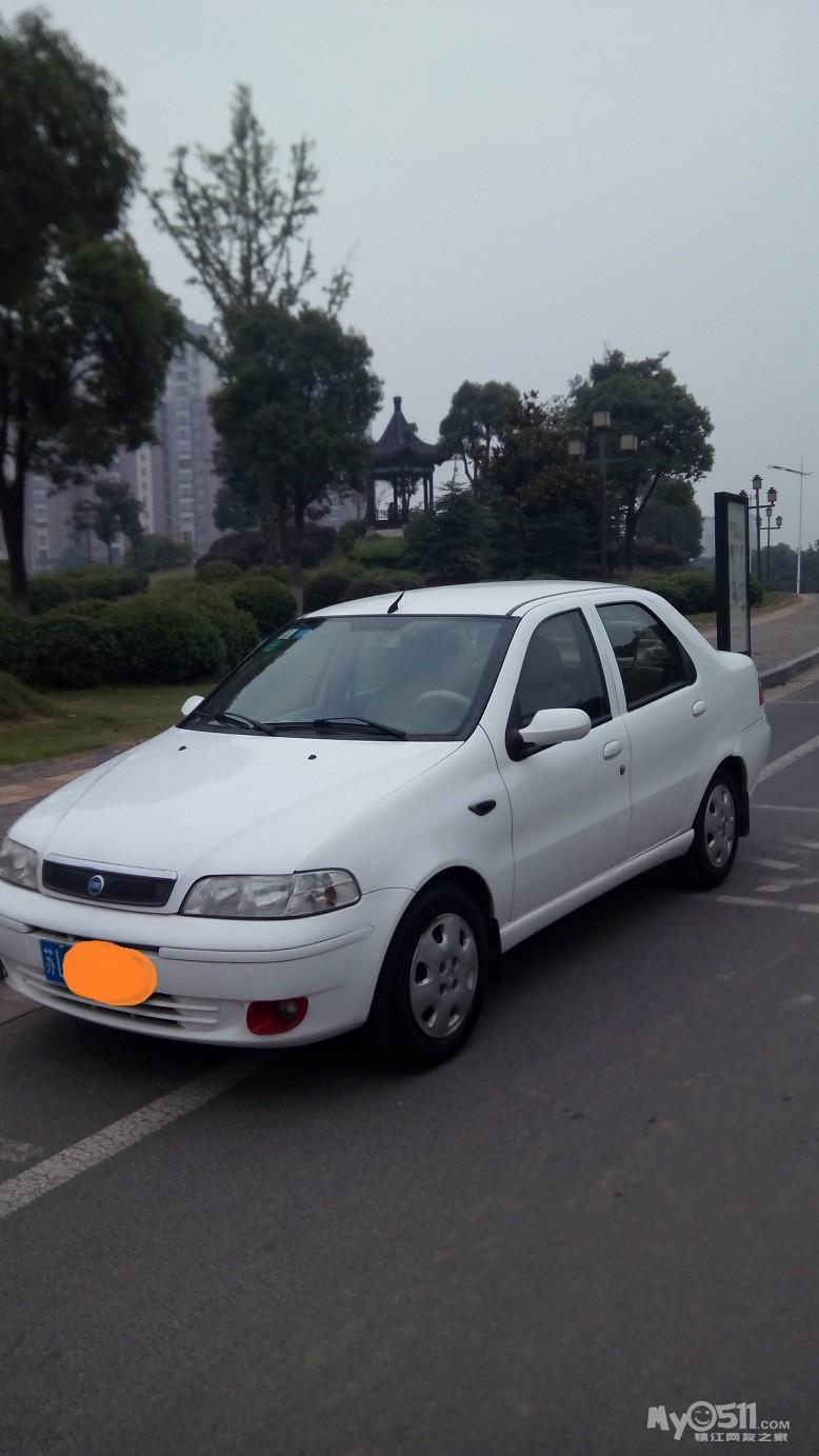 转让白色菲亚特西耶那三厢1.5手动轿车高清图片