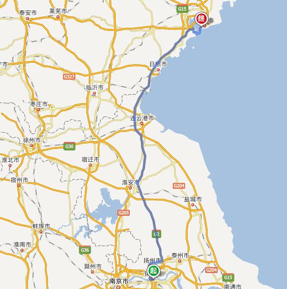 上海虹桥到青岛平度