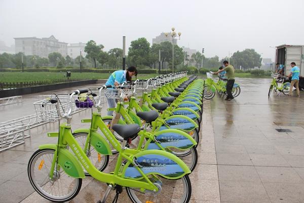 """03 丹徒区""""文明交通 绿色出行""""公共自行车骑行活动掠影"""