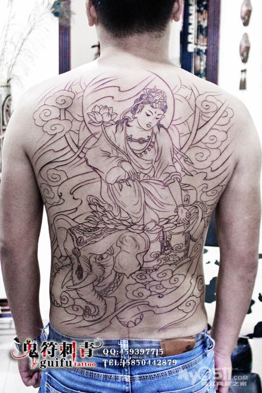 0  注册 07-4-20 行业 其它 来自 镇江    镇江鬼符纹身作品 满背