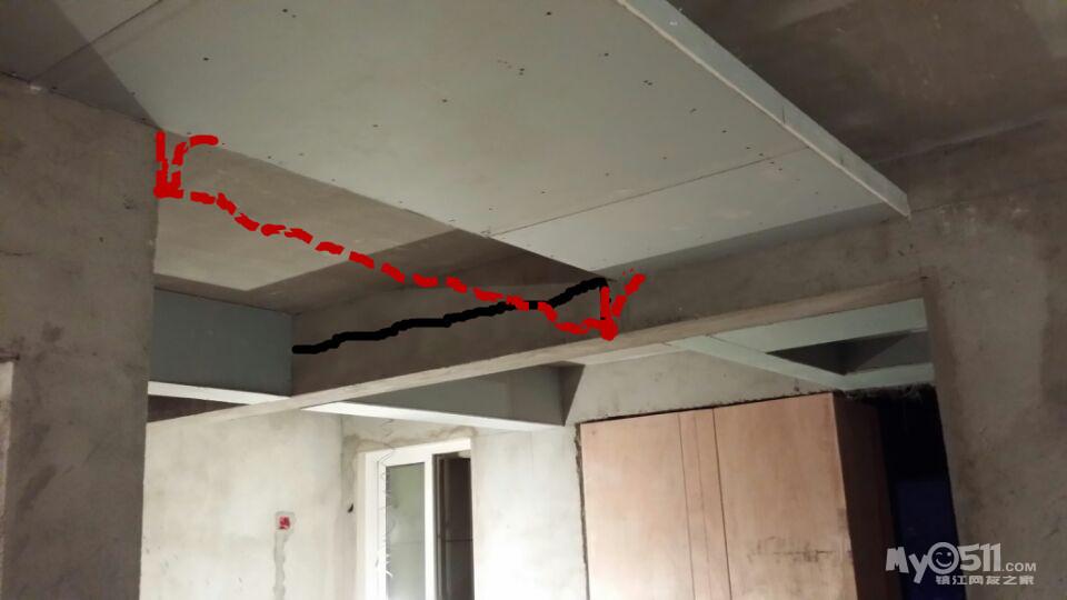 钢结构不吊顶装灯