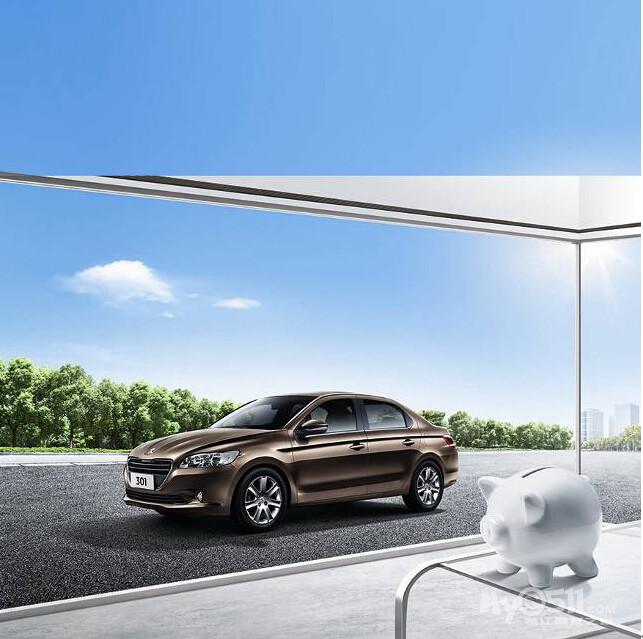 帮您省钱 东风标致301 CNG车型9月上市高清图片
