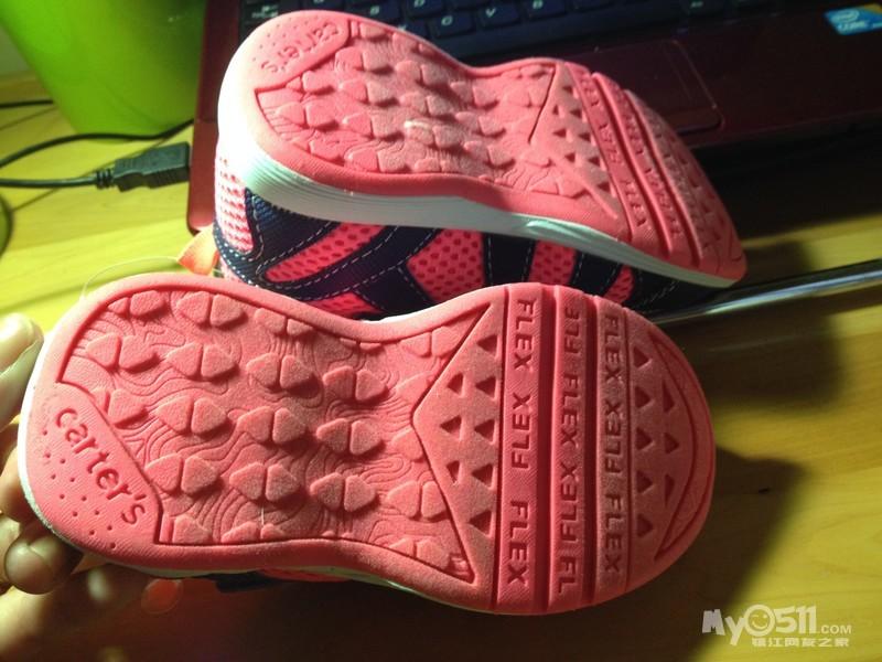 防滑鞋底,质感不错,-美国购得卡特小码运动鞋子全新转,德国泰迪