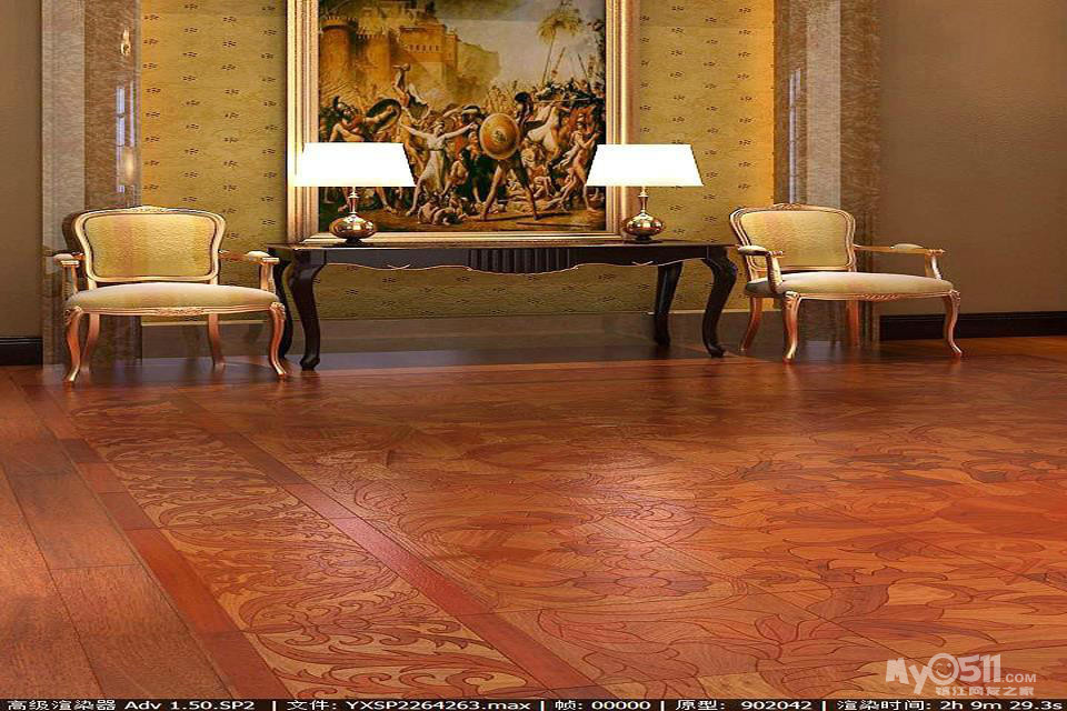 拼花地板/环保实木复合地板发展潮流(环保等级e0级)