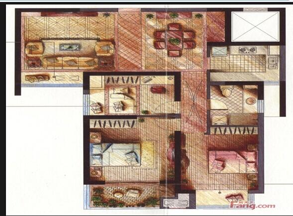 和美星城结构图