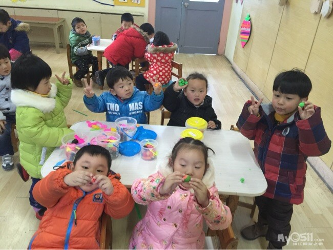 东吴幼儿园小班组重阳节活动