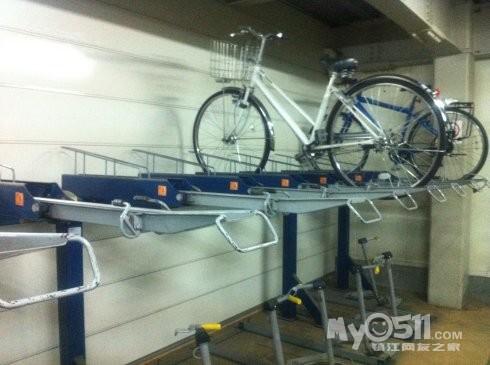 参观一下日本立体自行车库:深入地下