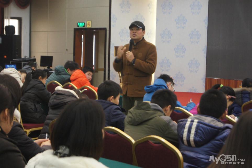 2015年3月7日智慧学语文中国行第113场常州专场公益讲座图片欣赏