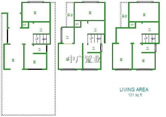 别墅正方形户型设计图图片