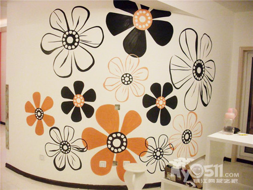 绿萝墙绘,主题丰富,绿色环保,给您带来与众不同的家装
