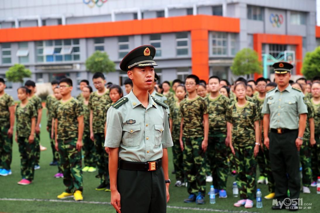 镇江市实验初中七年级新生军训正式开始 海量美图 第二天训练照片已上传