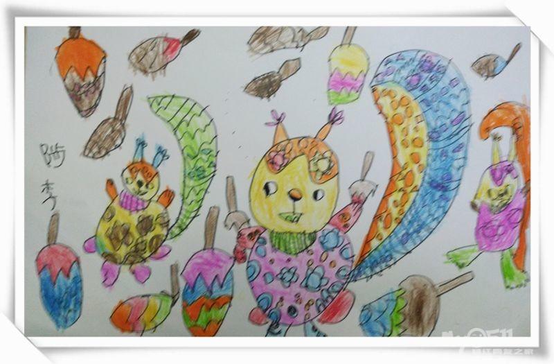《开心小画家》少儿创意美术工作室欢迎您!