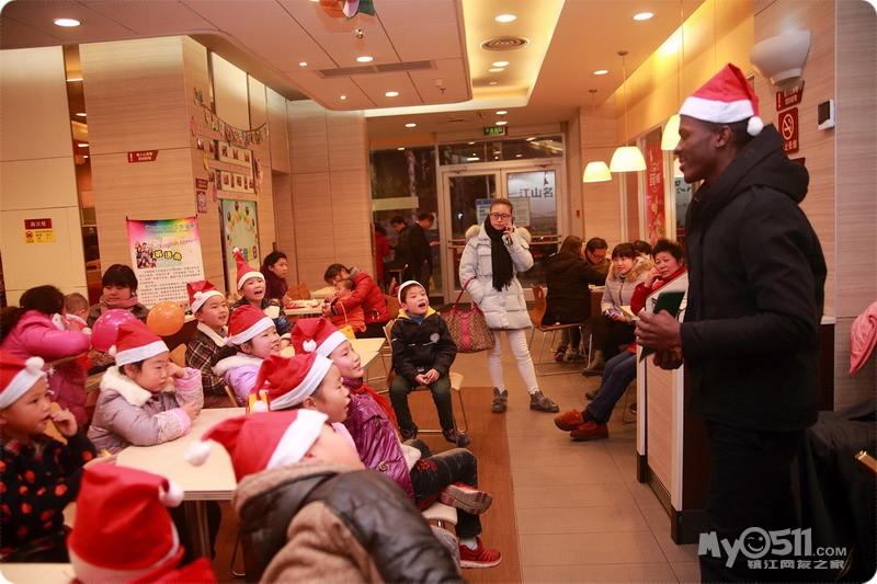 公益英语角之圣诞教学快乐剪影——因为你快乐