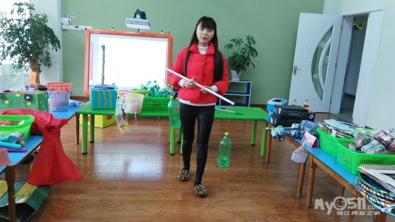小牛津幼儿园自制体育器械评比