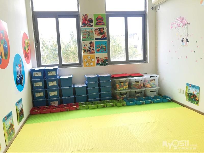 三之三世纪城幼儿园 乐高教室开课啦!