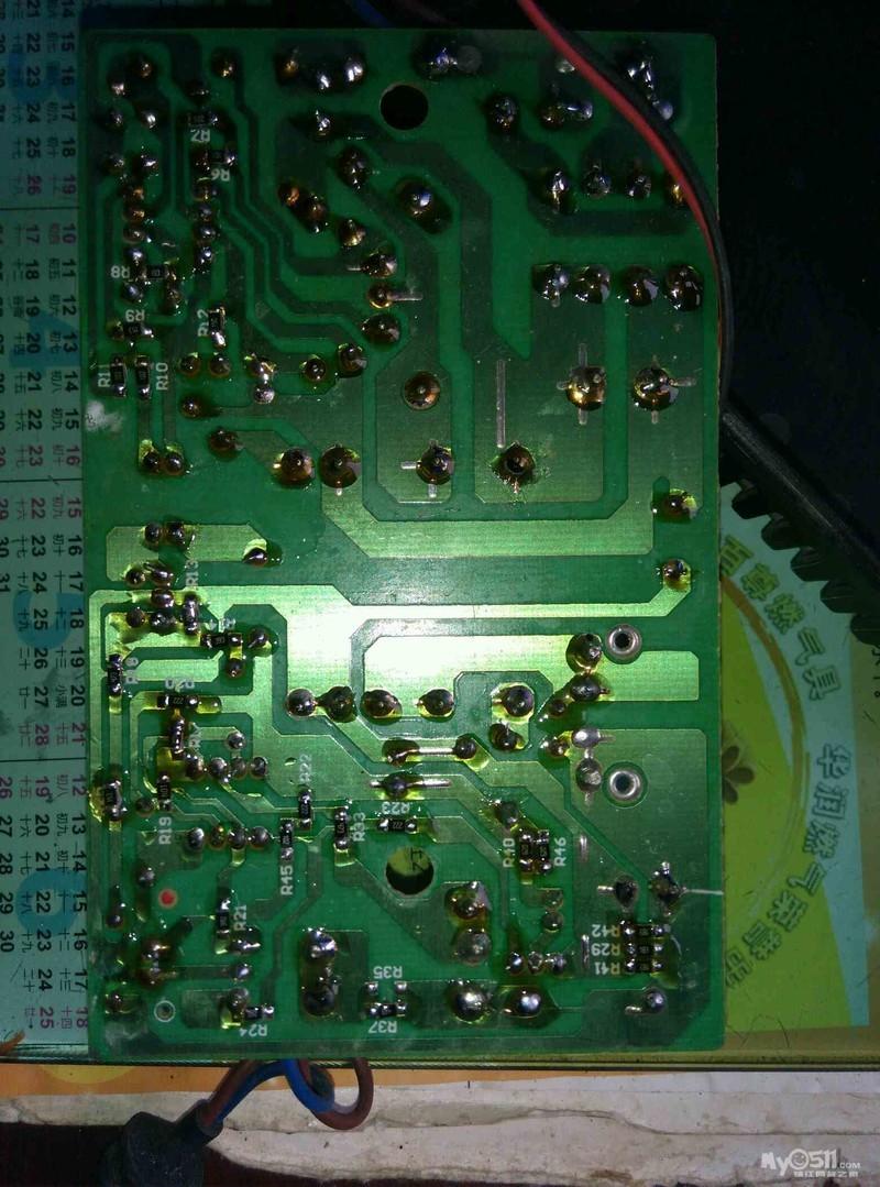 03  梦溪论坛 动力机车 03 查修电路板虚焊   电动车经常充电不足