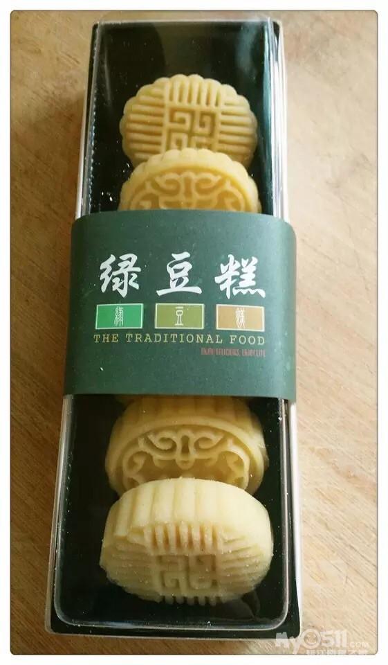 纯手工制作的月饼蛋黄酥绿豆糕