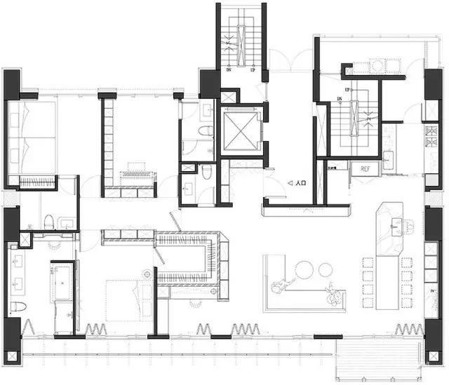 简单房子平面图怎么画
