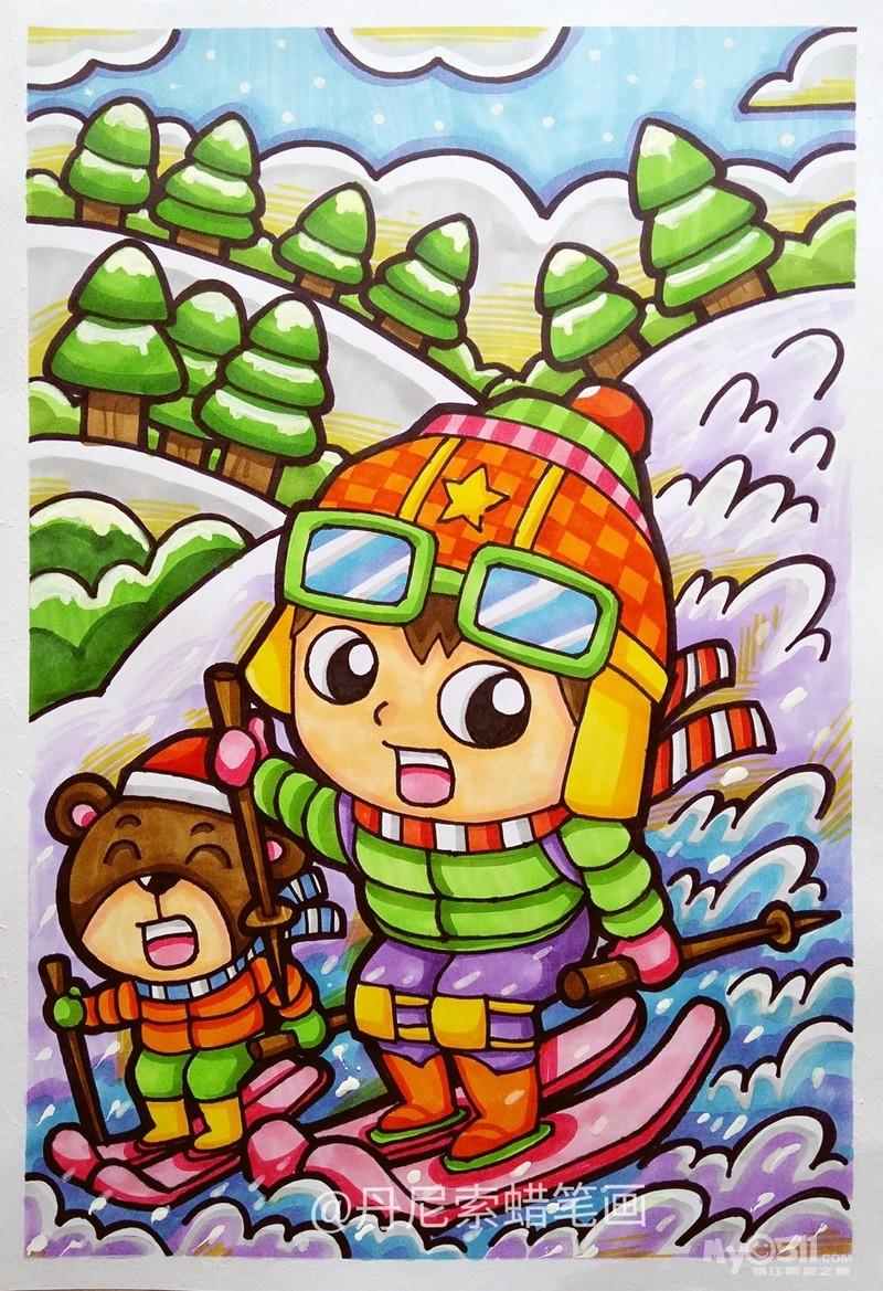 03 丹尼索儿童画电子素材 含9欢欢欢喜
