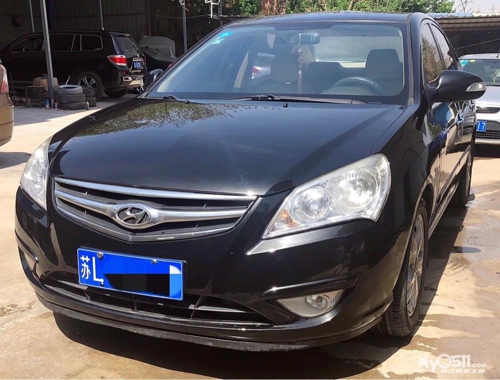 08年自动挡顶配带天窗 北京现代悦动 发动机变速箱非常好 年检保险带