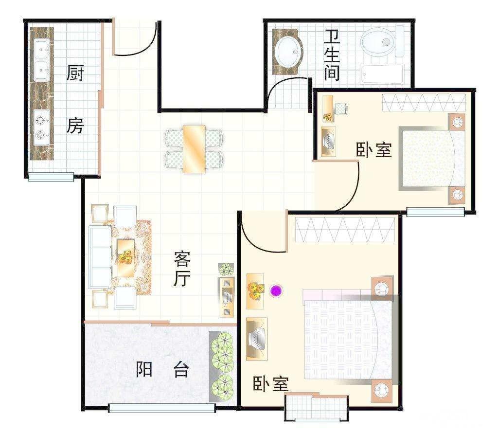 乡下房子设计平面图
