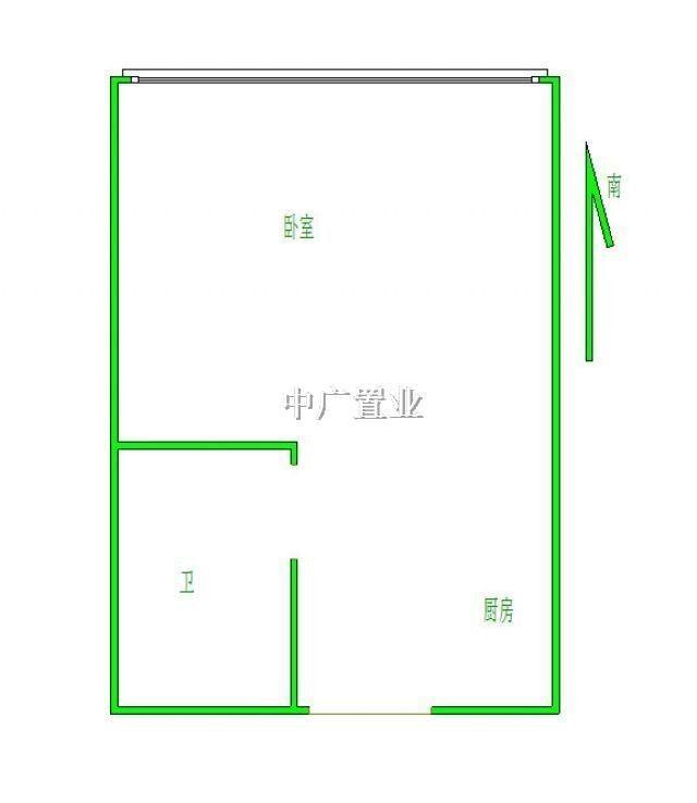 房屋户型:  一室一厅 房屋类型: 高层住宅 房屋性质: 商品房 建筑结构