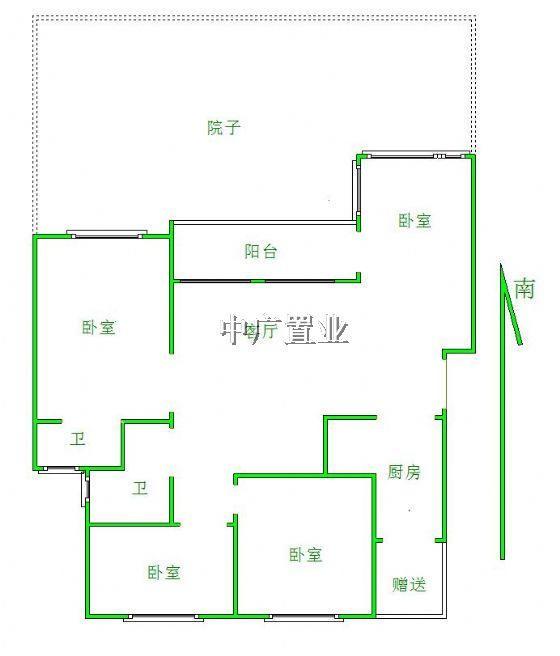 100平出租屋设计图