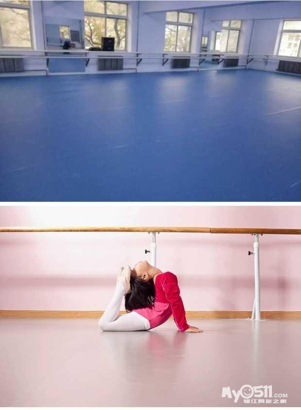 舞蹈房幼儿园装修设计及地胶销售及安装15189181855图片