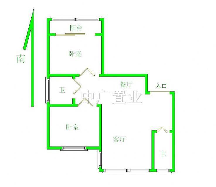 设计图分享 100平方3室一厅设计图  长方形100平方设计图 宽300×300图片